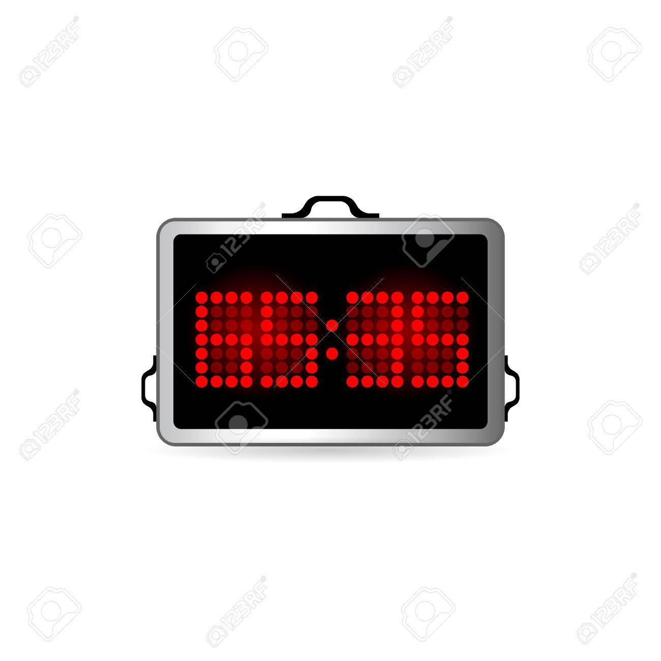 score board icon in color basketball game playing royalty free
