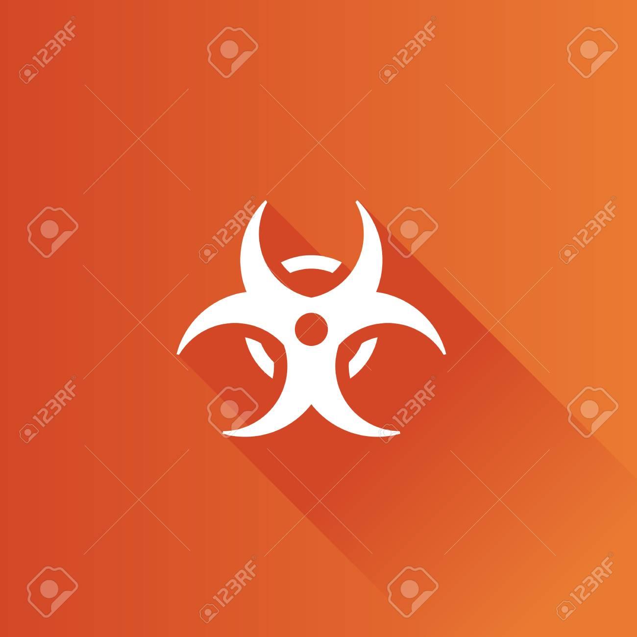 Biohazard symbol icon in metro user interface color style science biohazard symbol icon in metro user interface color style science technology hazard stock vector biocorpaavc Images