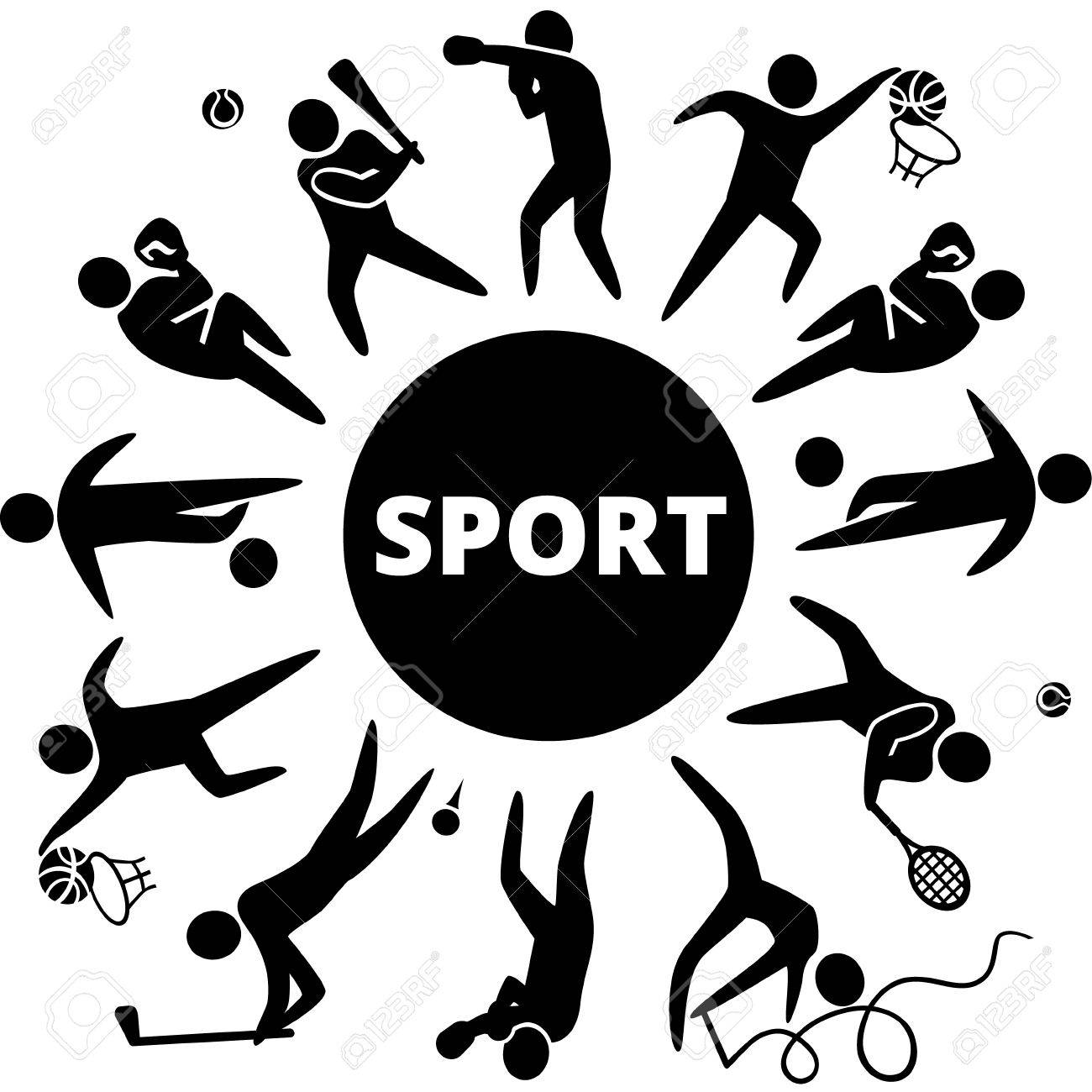 world of sports vector illustration of sports icons basketball rh 123rf com sport victoria - deportivo hualgayoc sports factor