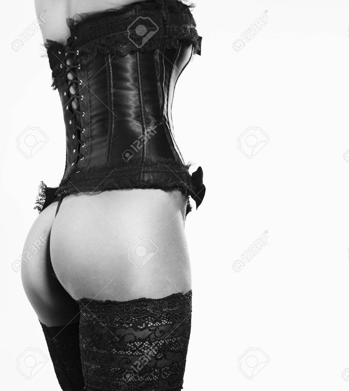 girl in Corsets and Stockings - 16086459