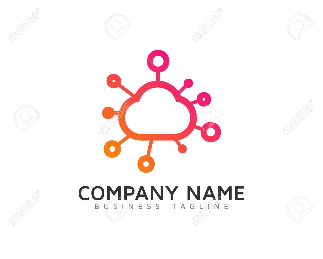 Cloud Share Design Template - 70577732