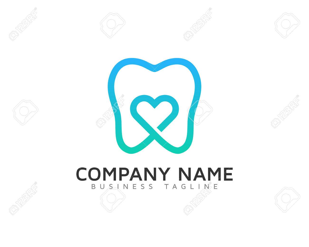 Dental Love Design Temp - 70952268