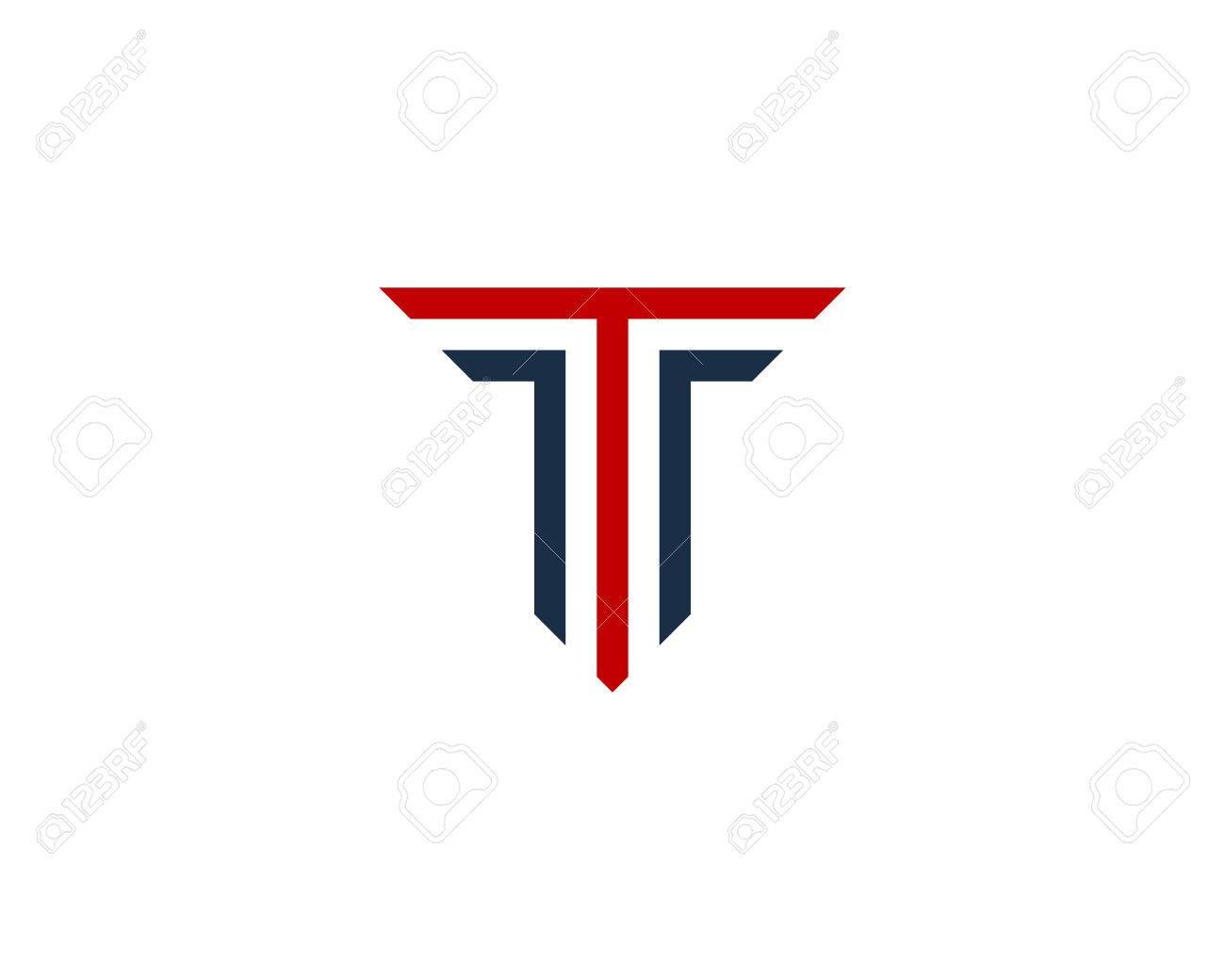 Letter T Icon Logo Design Element - 80692820