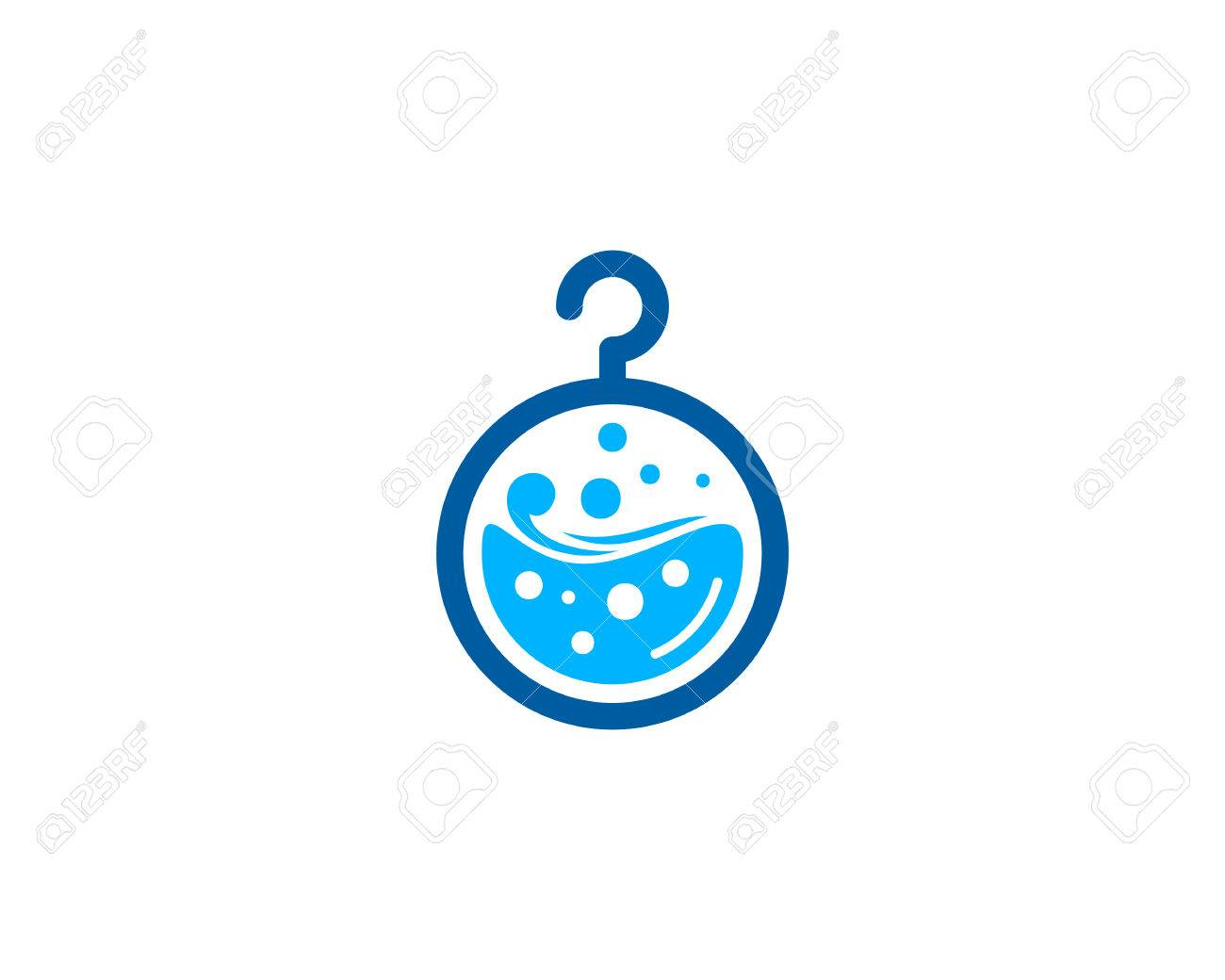 laundry icon logo design element royalty free cliparts vectors and stock illustration image 80611928 laundry icon logo design element