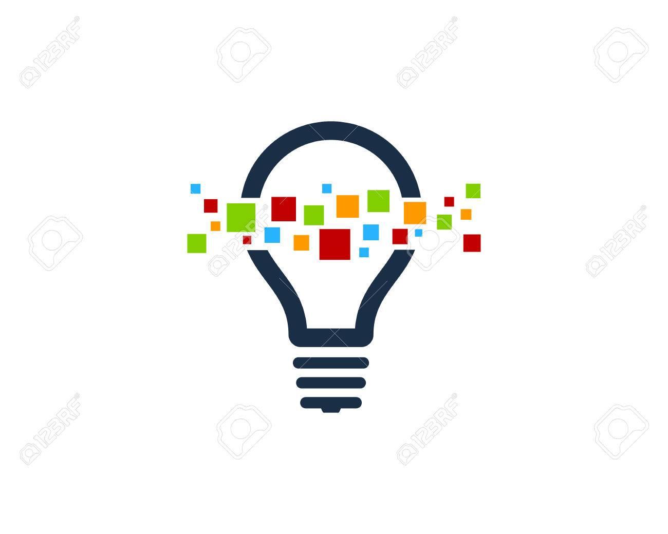Creative Idea Icon Logo Design Element - 80611494