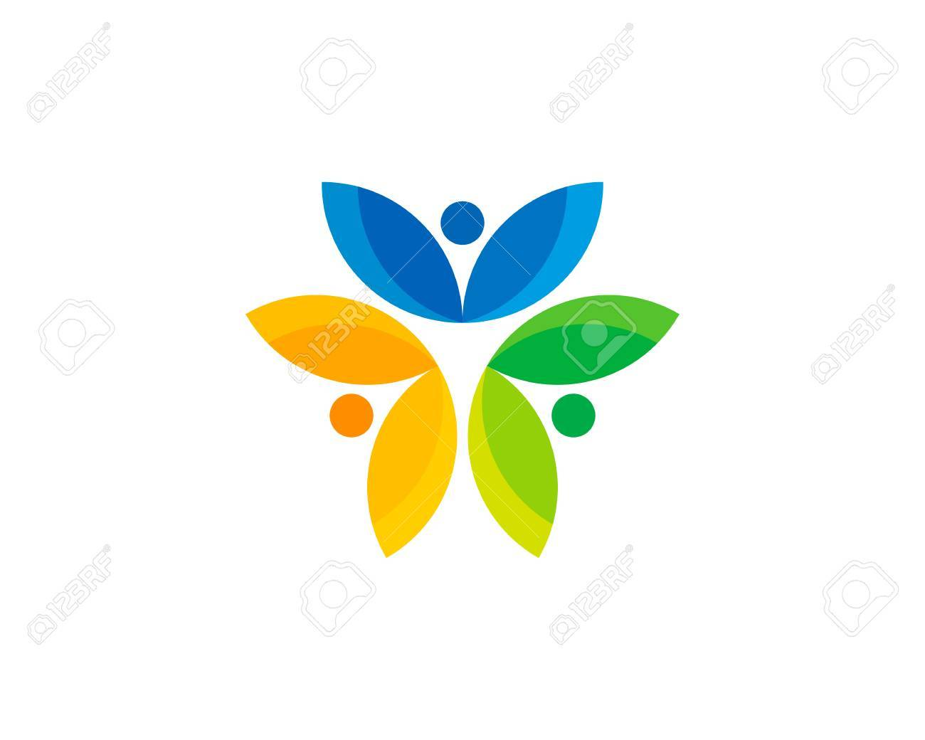 Wellness icon  Wellness Icon Logo Design Element Royalty Free Cliparts, Vectors ...