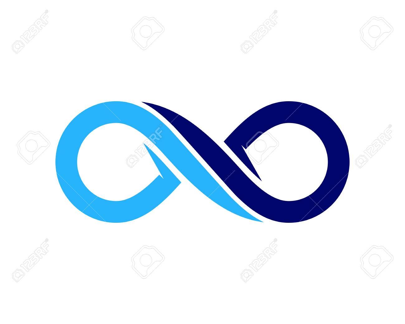 Infinity Icon Logo Design Element - 80611627