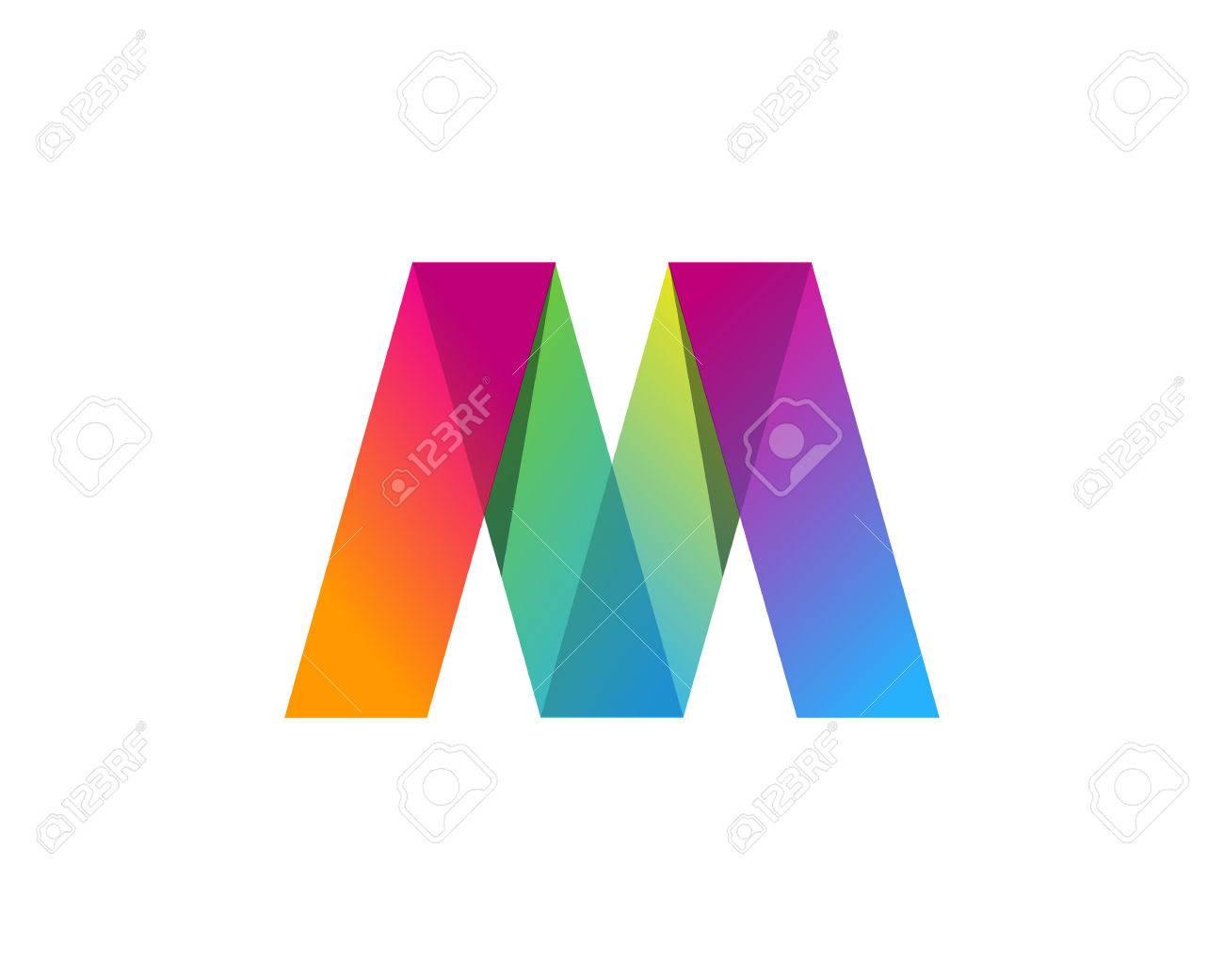 Letter M Icon Logo Design Element - 80692622