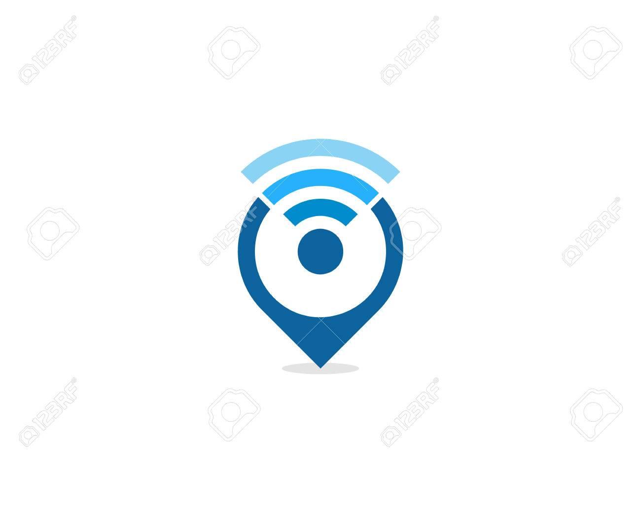 Wifi Icon Logo Design Element - 80767813