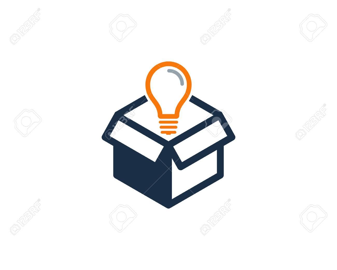 Creative Box Icon Design illustration - 101221683