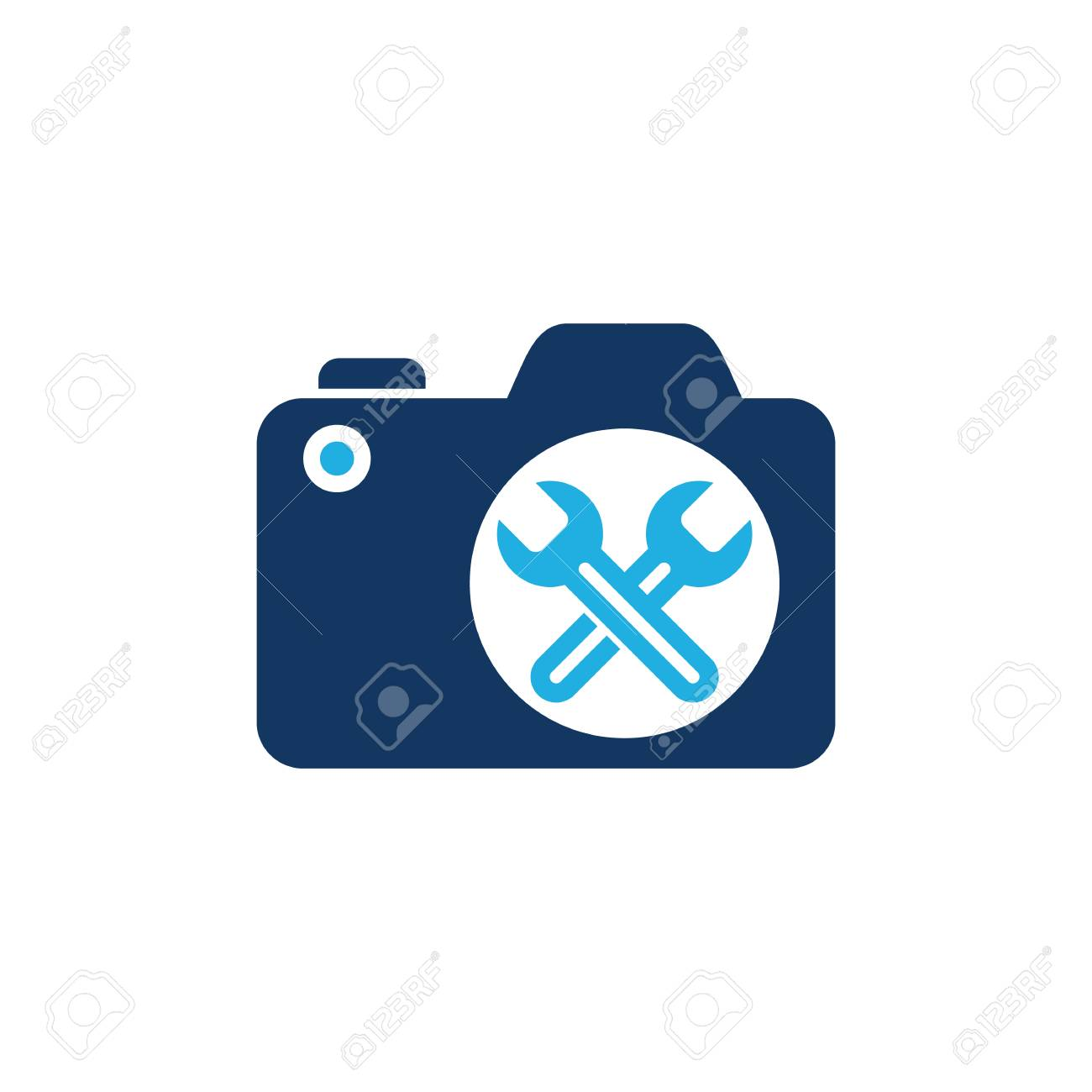 Repair Camera Logo Icon Design Royalty Free Cliparts Vectors And Stock Illustration Image 100971719