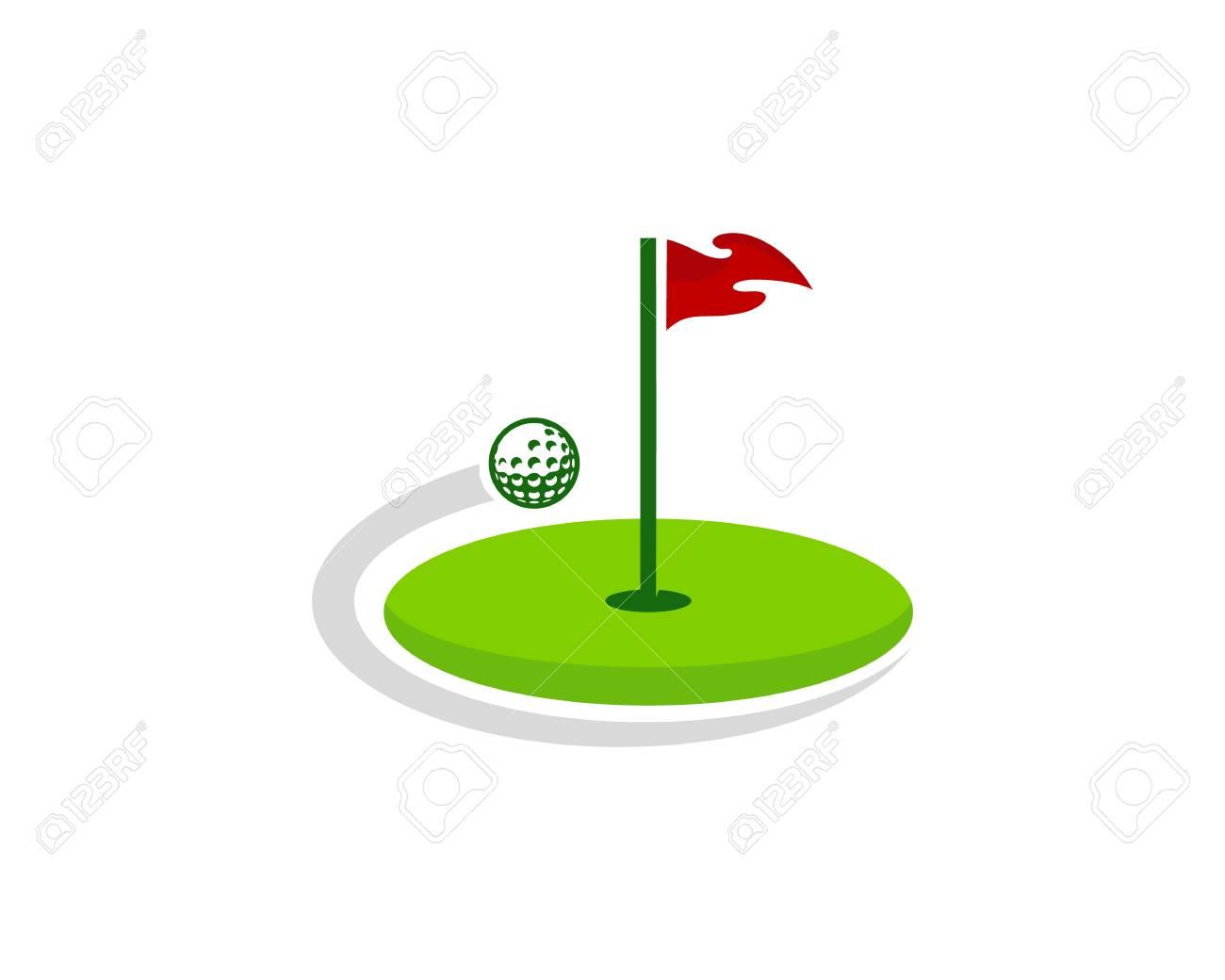 Golf Logo Icon Design - 101449403