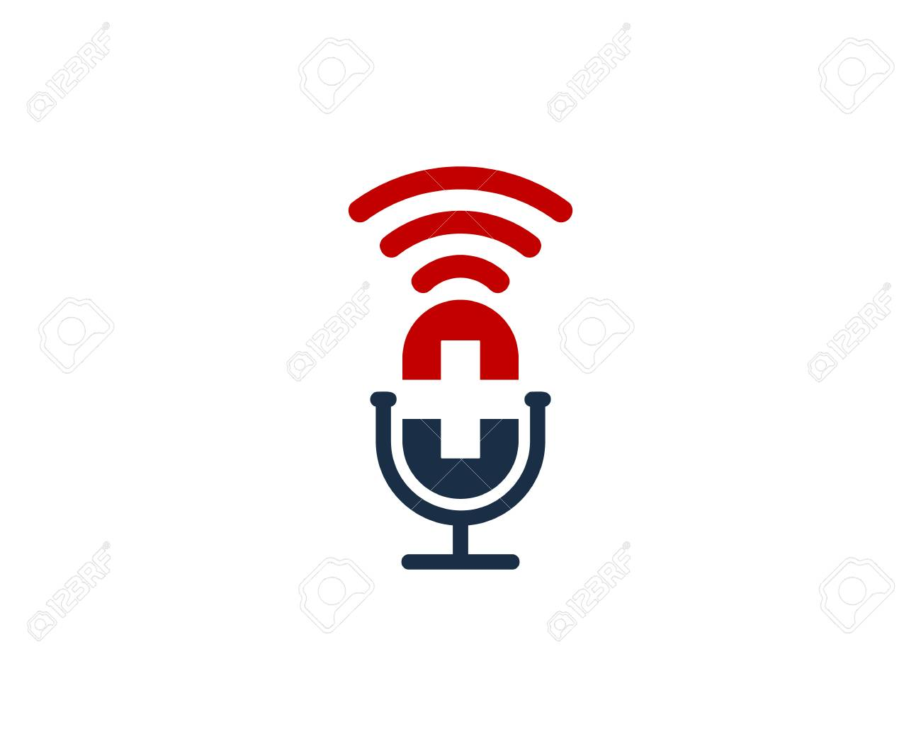 Medical Podcast Logo Icon Design - 101827423
