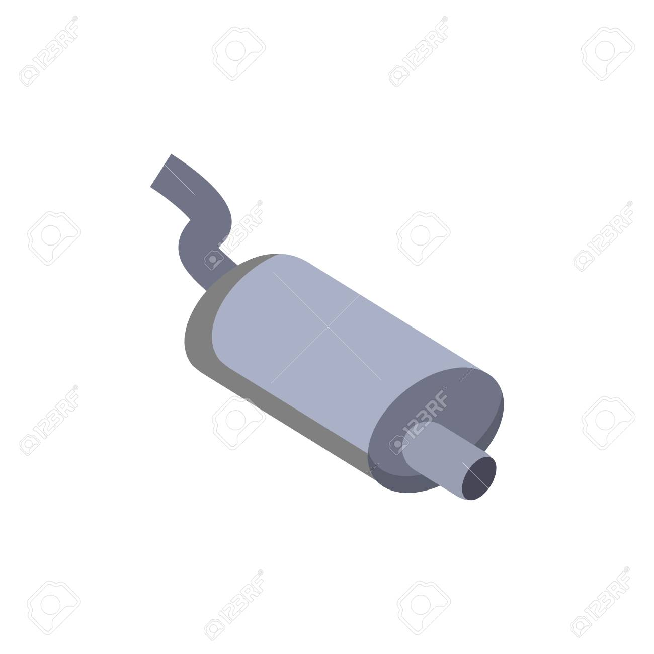 Exhaust Sparepart And Car Logo Icon Design Royalty Free Cliparts Vectors And Stock Illustration Image 106766513