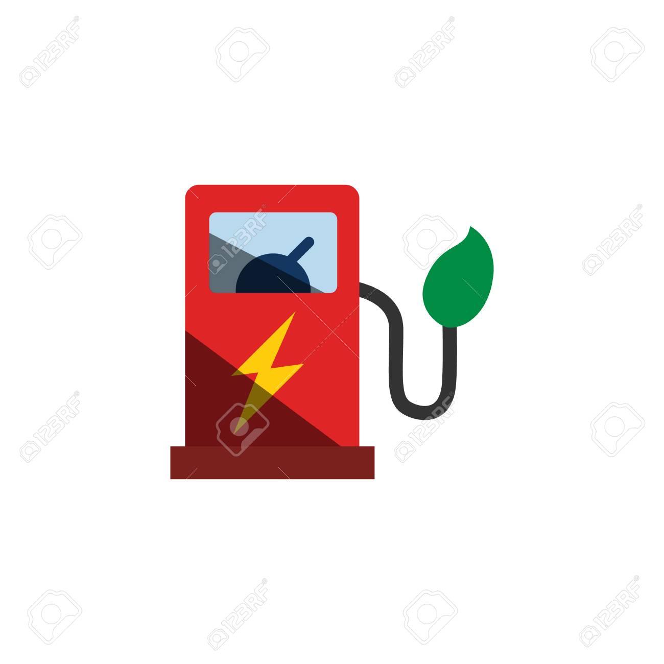 Station Electric Car Logo Icon Design - 106805502