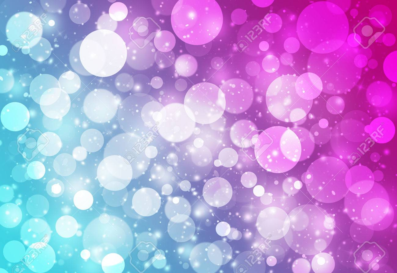 Fashion style Blue and pink glitter background for lady