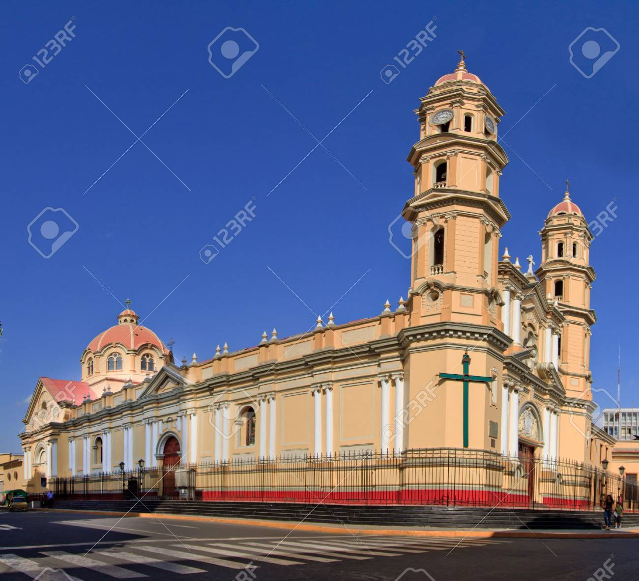 Main Cathedral In The City Of Piura In Peru Stock Photo Picture And Royalty Free Image Image 17566023