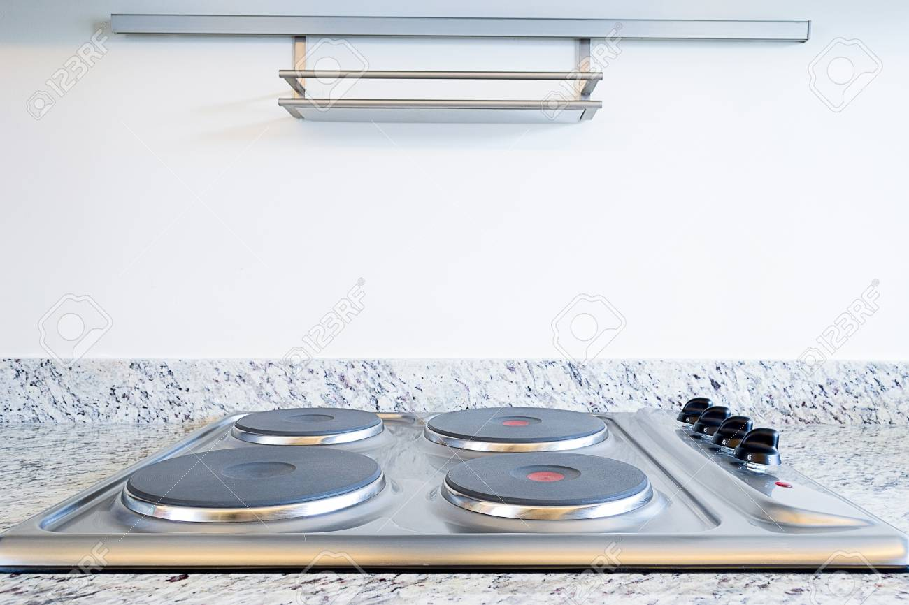 Four electric elements on a stove Stock Photo - 19574314