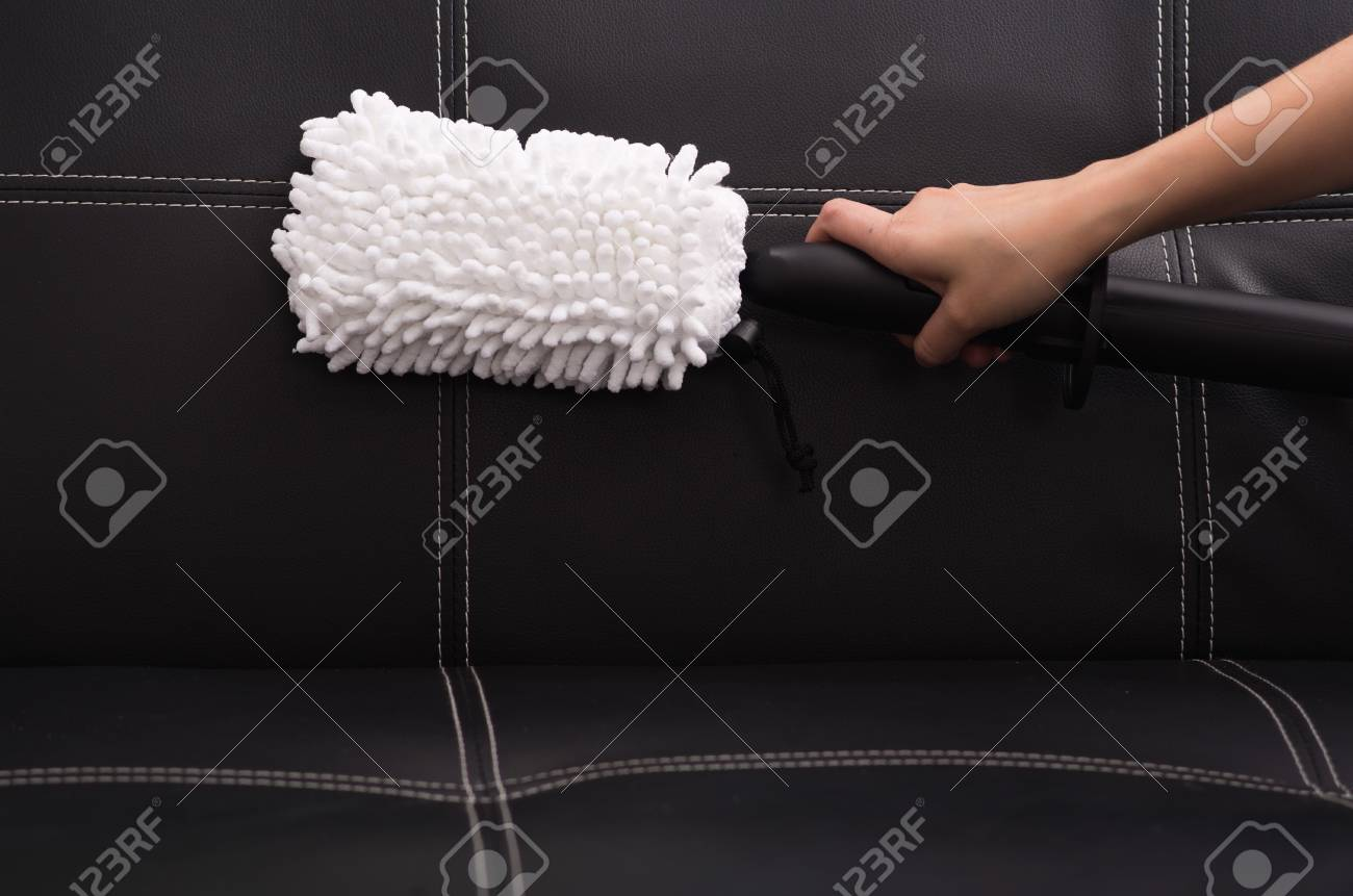 Remarkable White Fabric Brush From Steam Cleaning Machine Being Used On Machost Co Dining Chair Design Ideas Machostcouk