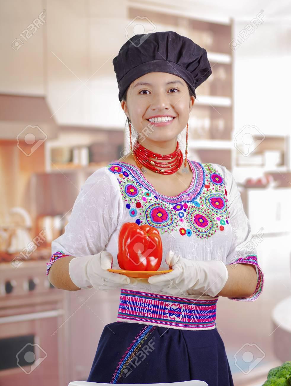 Großer schwarzer Koch