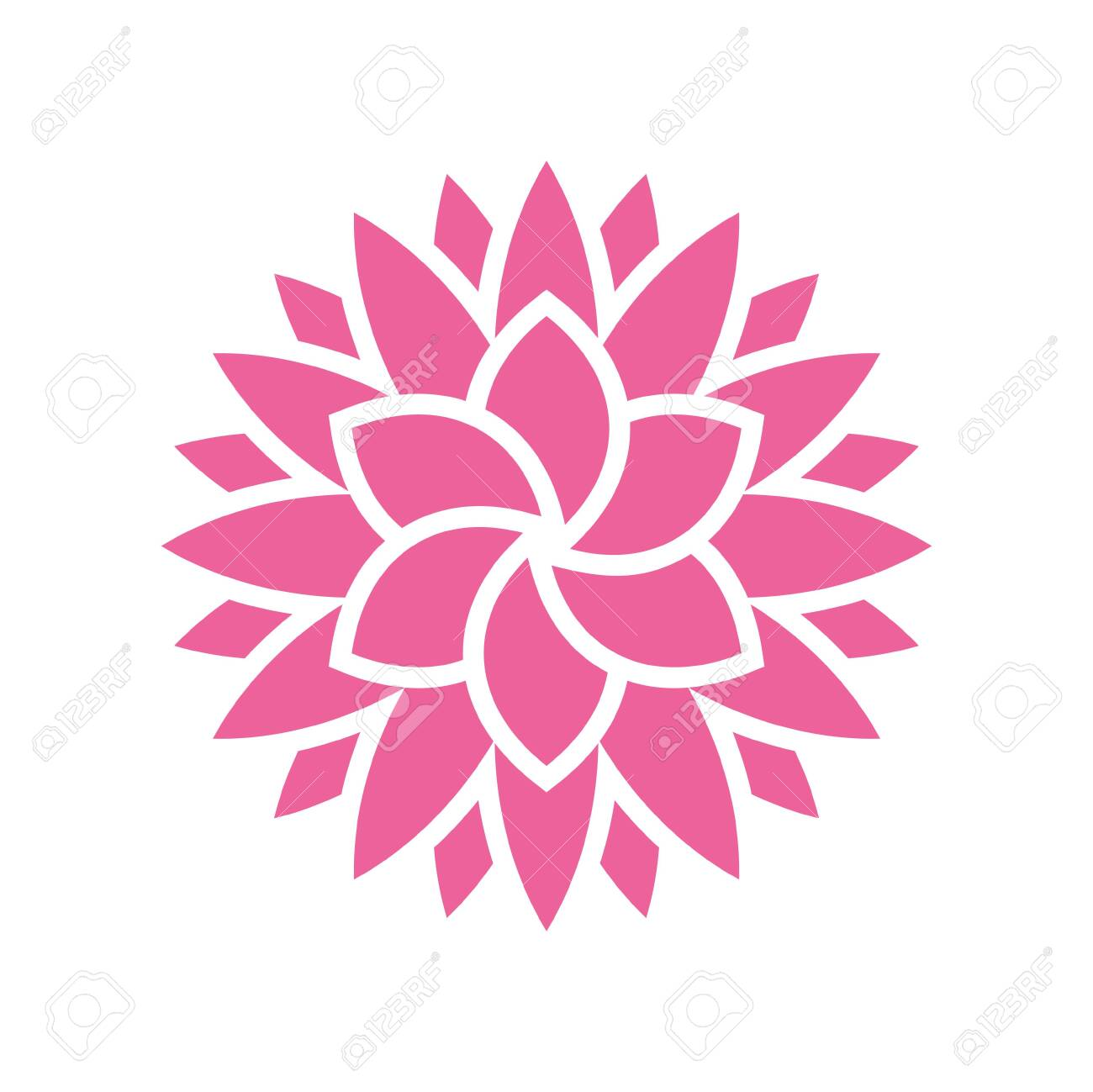 Lotos Flower Icon On Background For Graphic And Web Design Simple Royalty Free Cliparts Vectors And Stock Illustration Image 127631297,Royal Blue Wedding Cupcake Designs