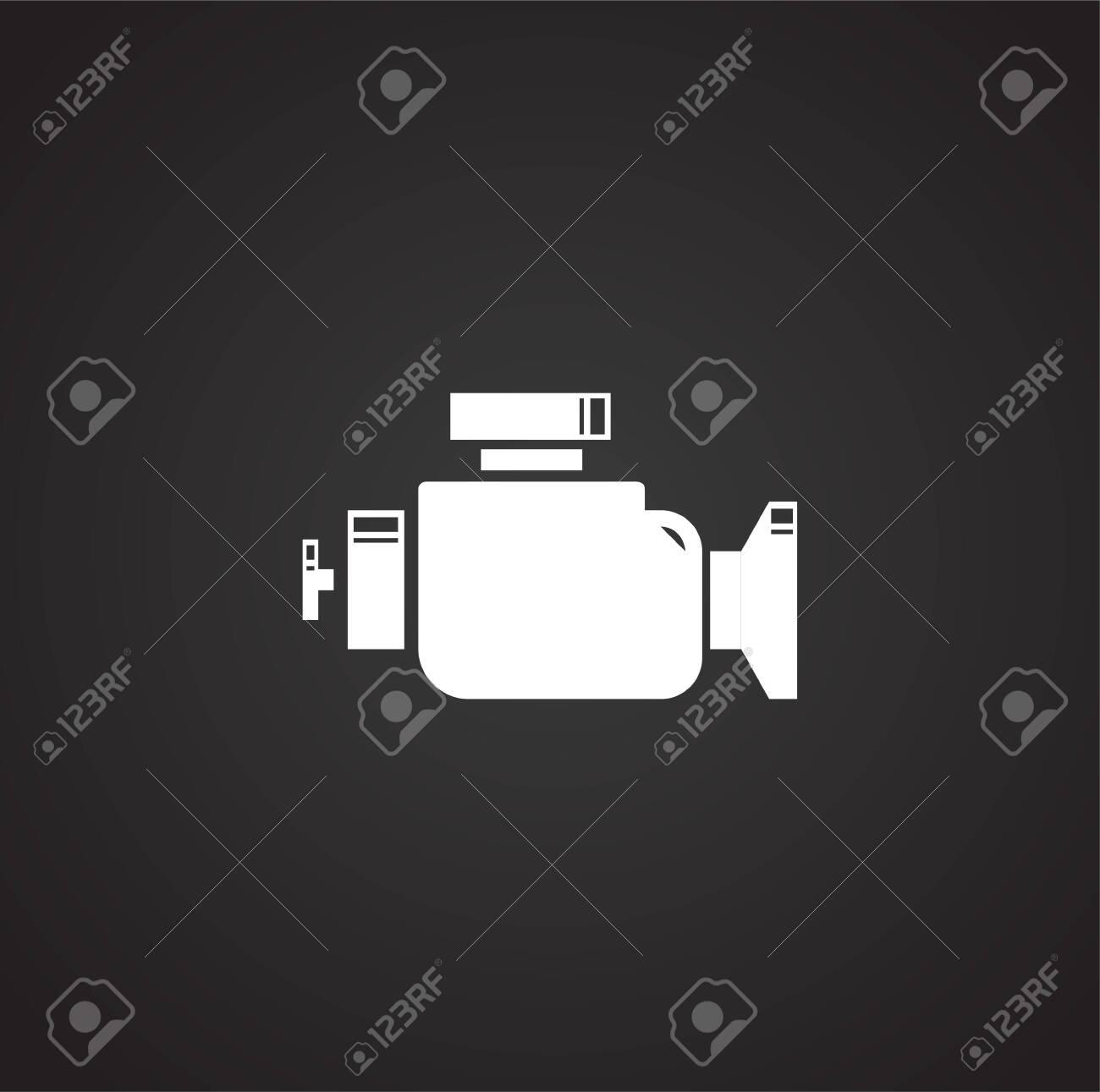 Car part related icon on background for graphic and web design. Simple illustration. Internet concept symbol for website button or mobile app - 151364133