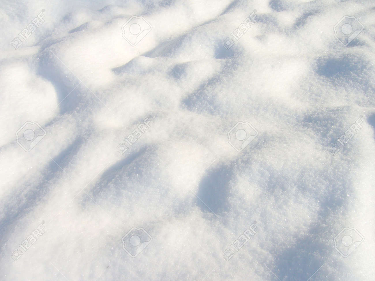 Beautiful clean and soft snow surface Stock Photo - 346718