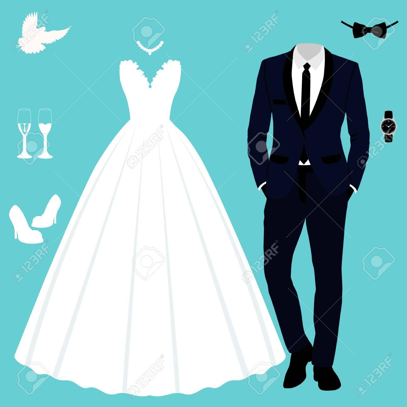 Enchanting Wedding Dress And Tuxedo Mold - Wedding Plan Ideas ...