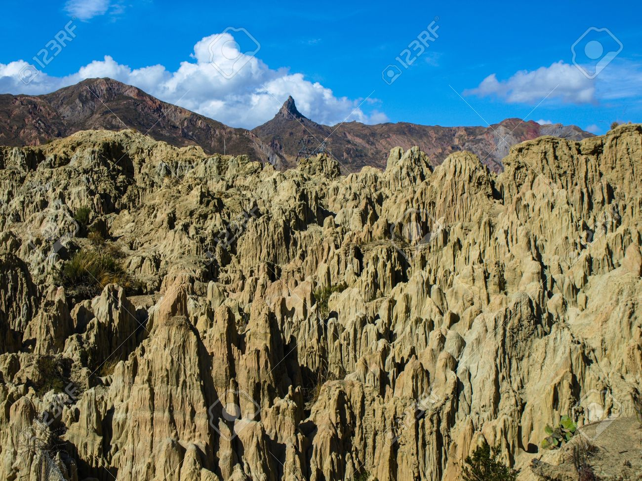 Valley Of The Moon Valle De La Luna Near La Paz Bolivia Stock Photo Picture And Royalty Free Image Image 21131282