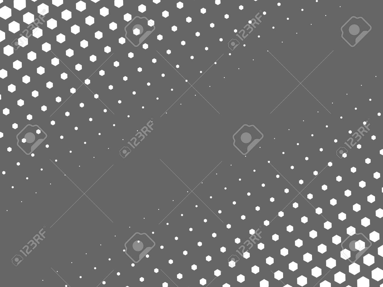Abstract Halftone Texture Of White Dots In Linear Arrangement ...
