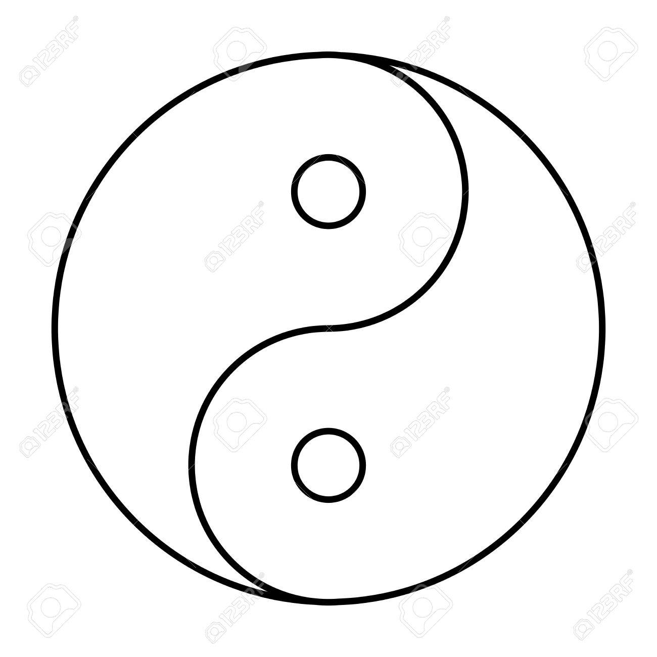 yin yang symbol of chinese phylosophy describes how opposite rh 123rf com Yin Yang Symbol Meaning Ancient Yin Yang