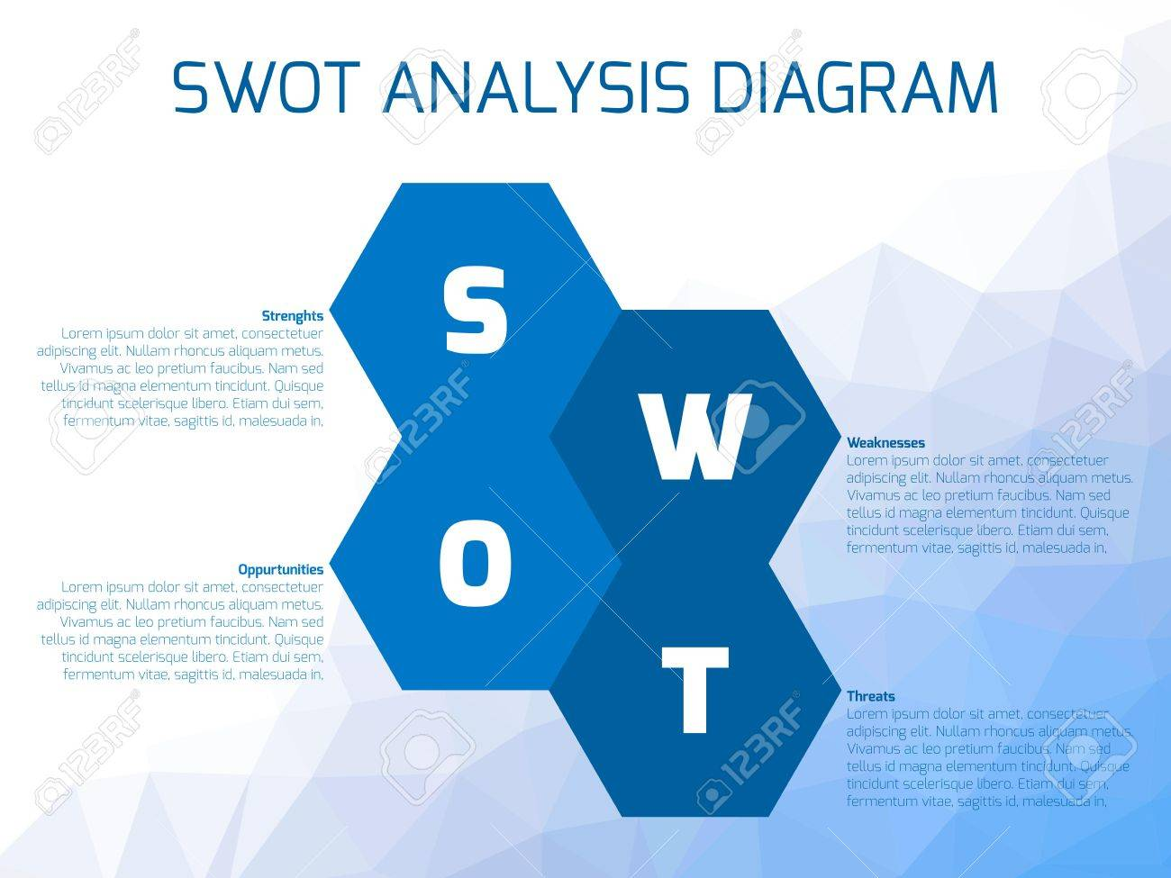 Swot business infographic diagram or swot matrix used to evaluate swot business infographic diagram or swot matrix used to evaluate the strengths weaknesses ccuart Image collections