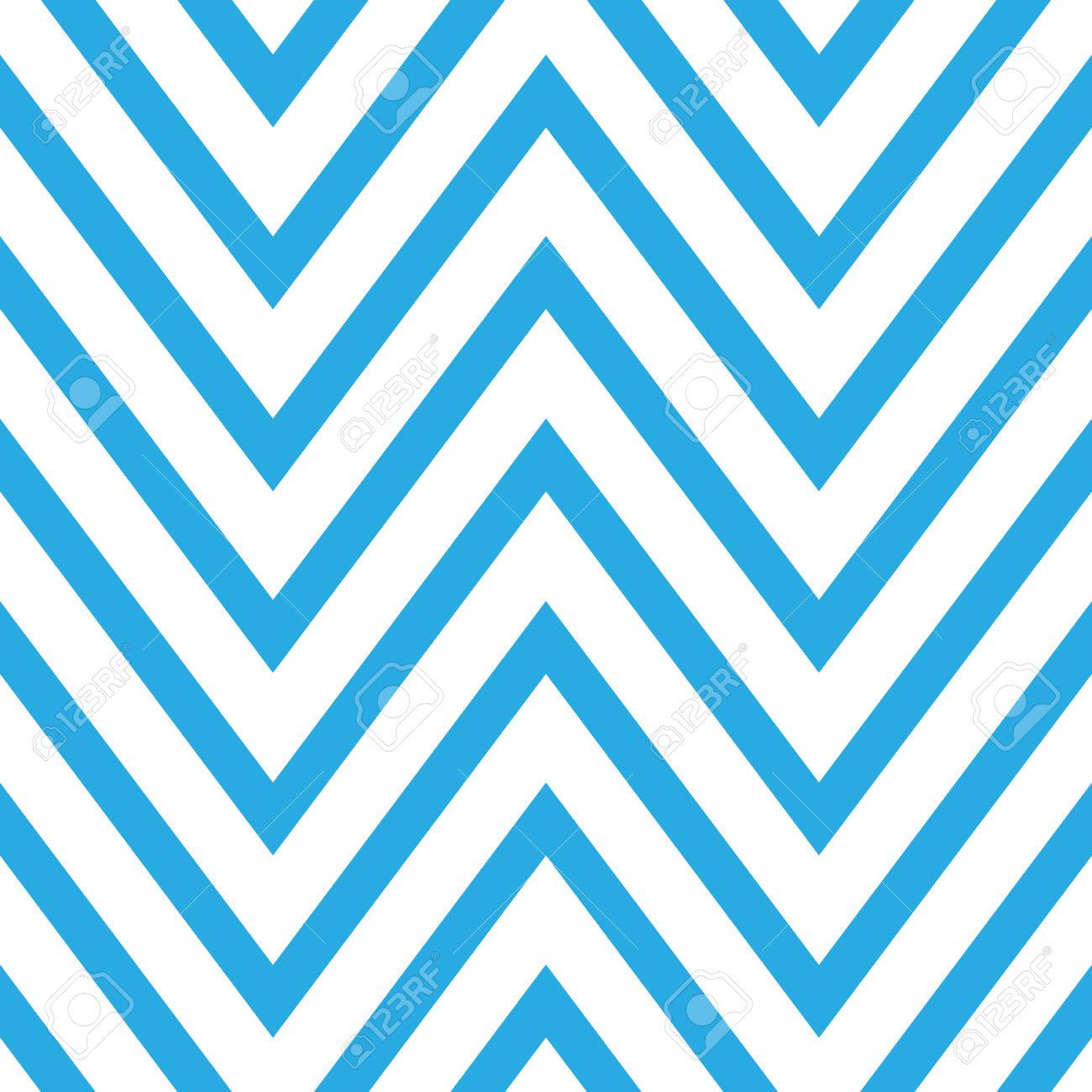 seamless chevron pattern in blue and white horizontal zigzag rh 123rf com  chevron vector pattern illustrator