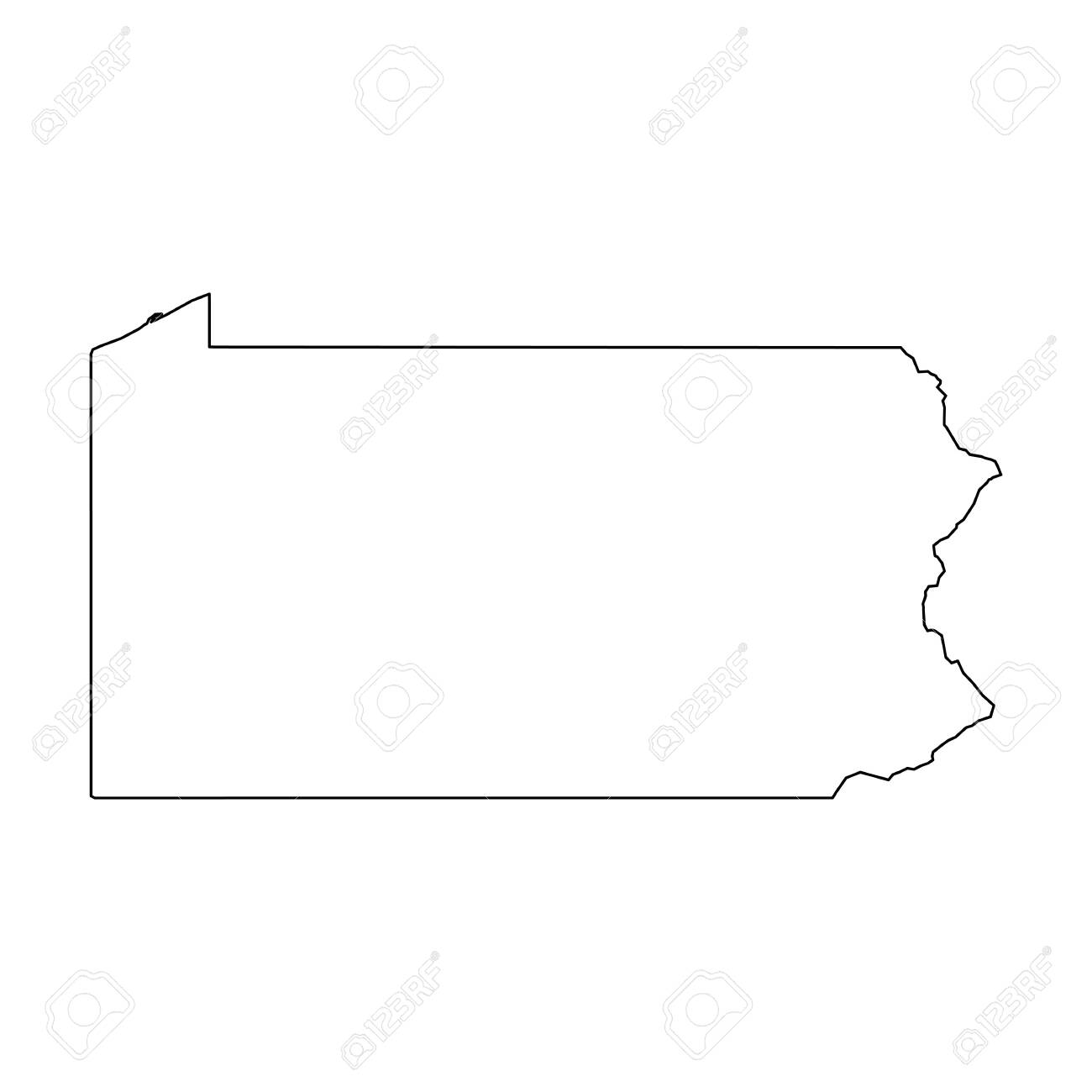 Pennsylvania, state of USA - solid black outline map of country.. on pennsylvania colors, pittsburgh map usa, ohio map usa, clemson university map usa, colorado map usa, mississippi map usa, pittsburgh pennsylvania usa, iowa map usa, pennsylvania on map, wisconsin map usa, oregon map usa, new york on map of usa, pennsylvania statehood, nebraska map usa, oklahoma map usa, indiana map usa, minnesota map usa, pennsylvania caves map locations, connecticut map usa, michigan map usa,