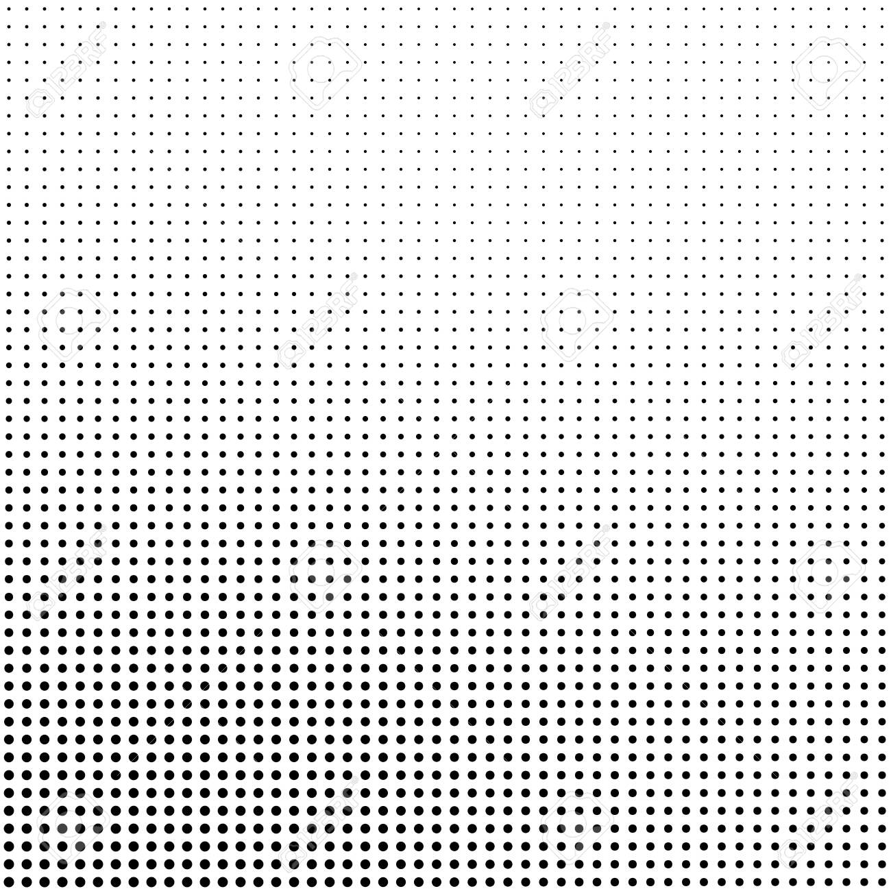 Abstract halftone background in black and white. Dotted vector pattern. - 138144412