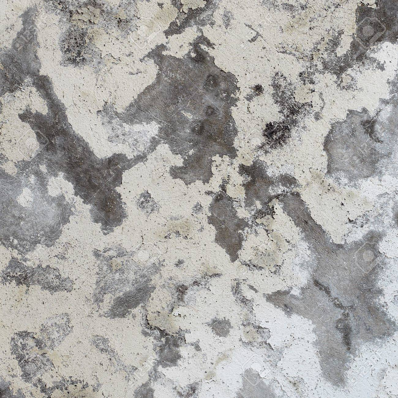 Dirty old damaged concrete gray wall - texture Stock Photo - 7300602