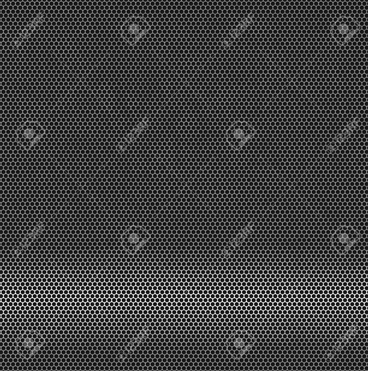 Abstract background - a metal surface with holes Stock Photo - 7410443