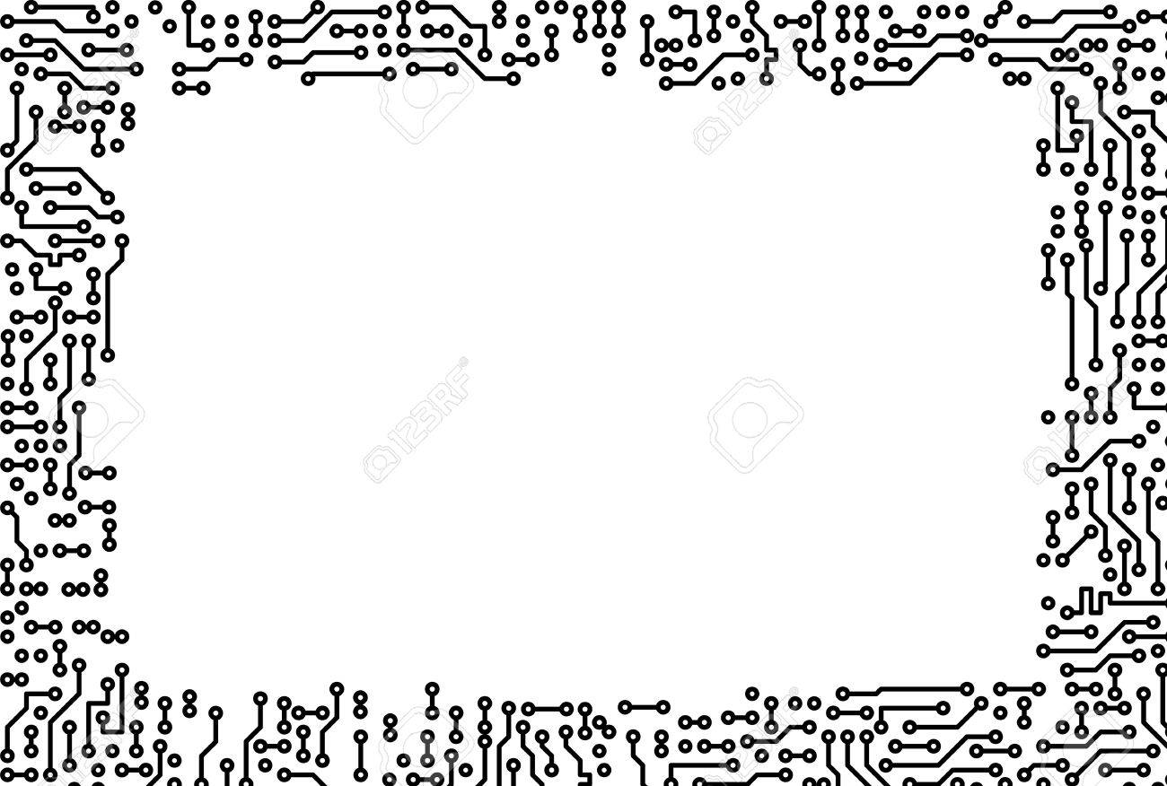 Artistic monochrome frame made of electronic components stock artistic monochrome frame made of electronic components stock photo 7541323 jeuxipadfo Gallery