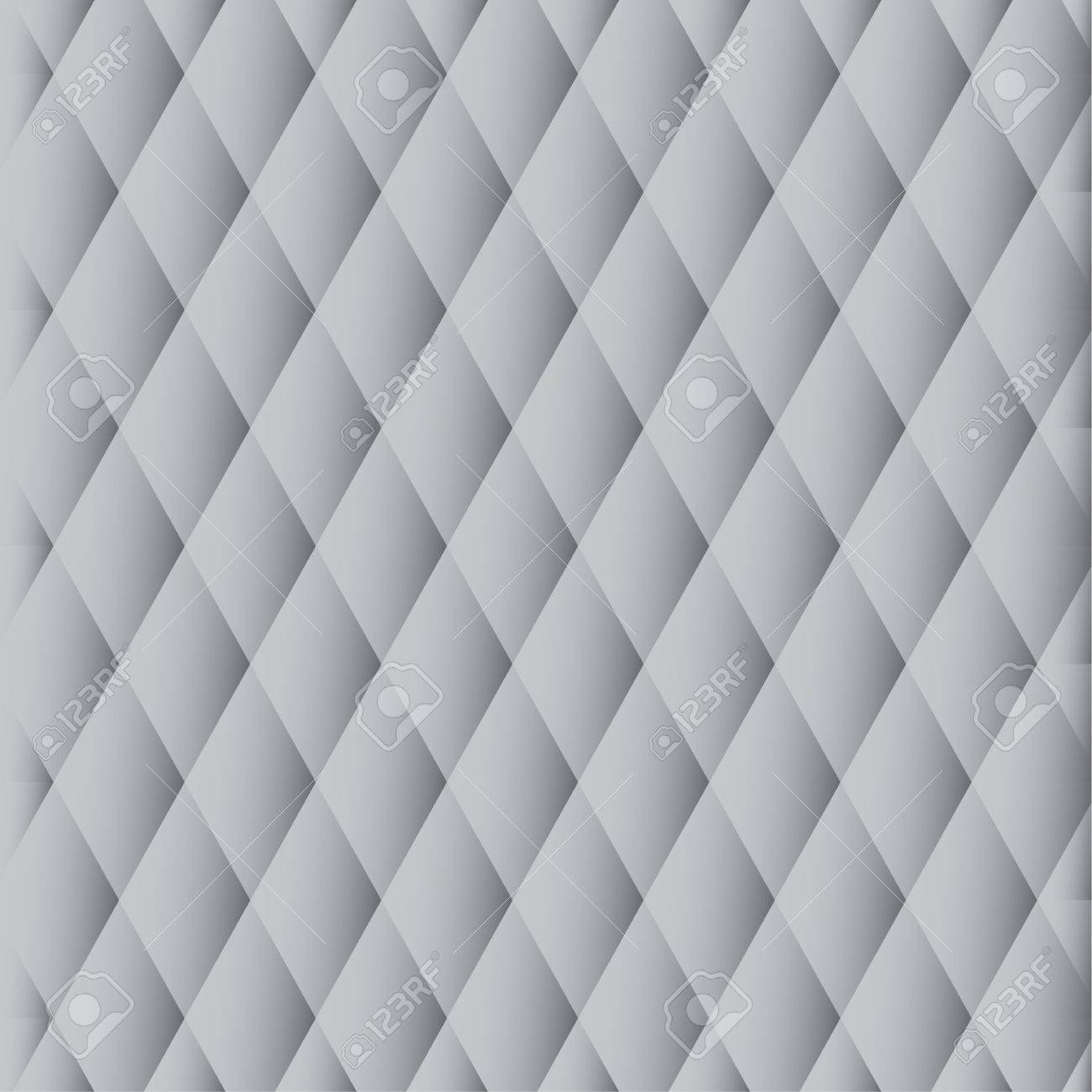 Abstract monochrome pattern of gray diamonds Stock Vector - 10981430