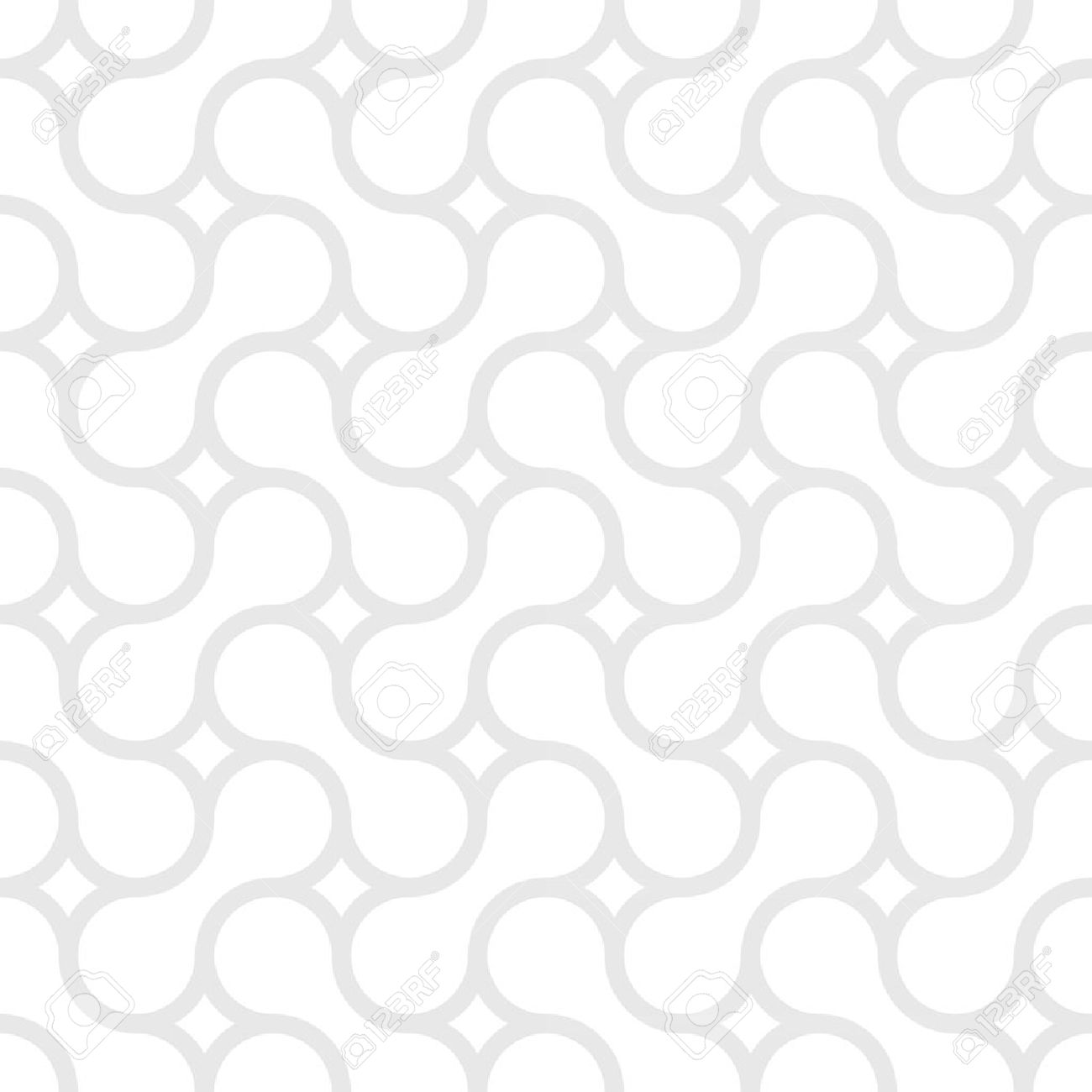 Monochrome simple pattern of gray curved lines Stock Vector - 12903185
