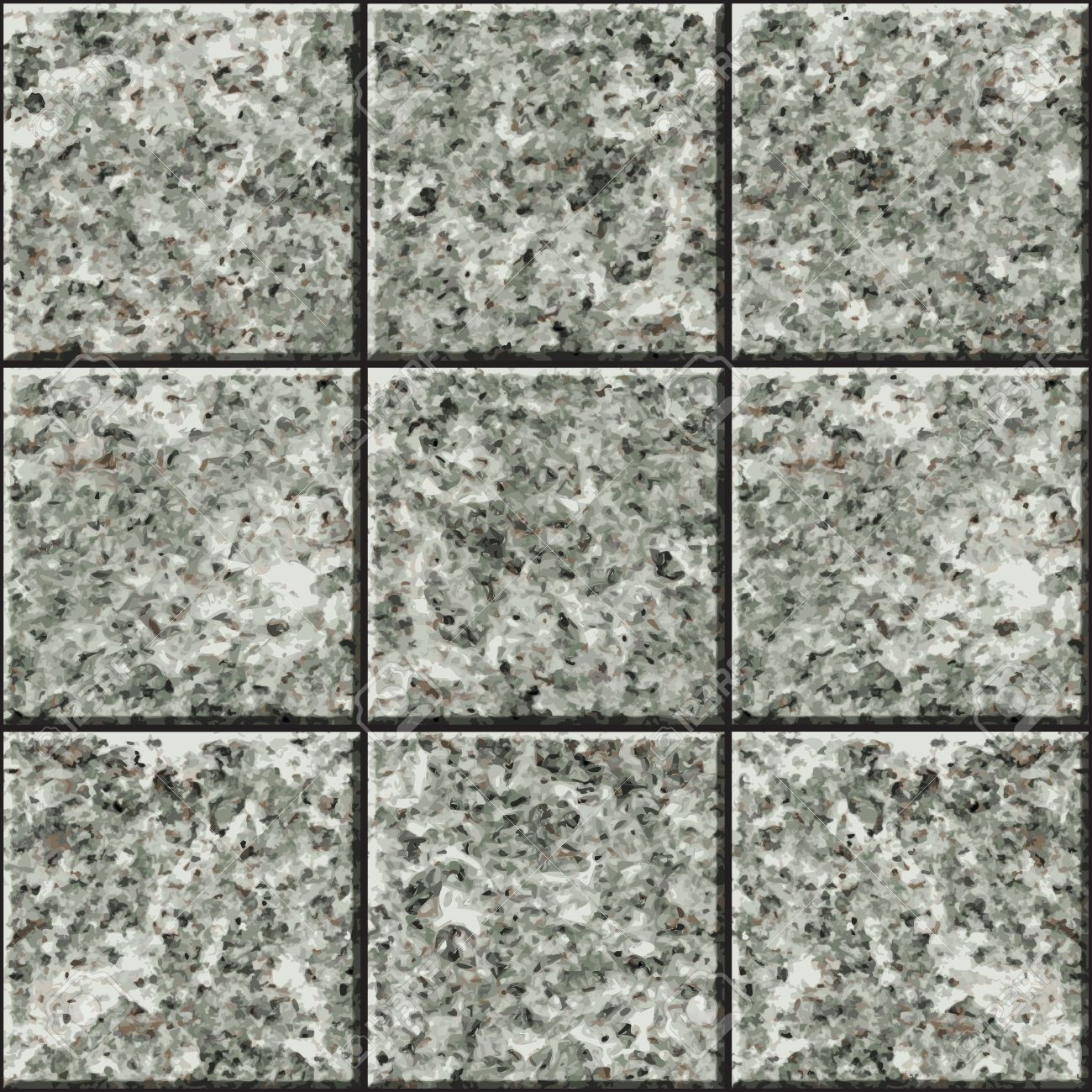 Seamless Texture A Wall Lined With Stone Tile Royalty Free