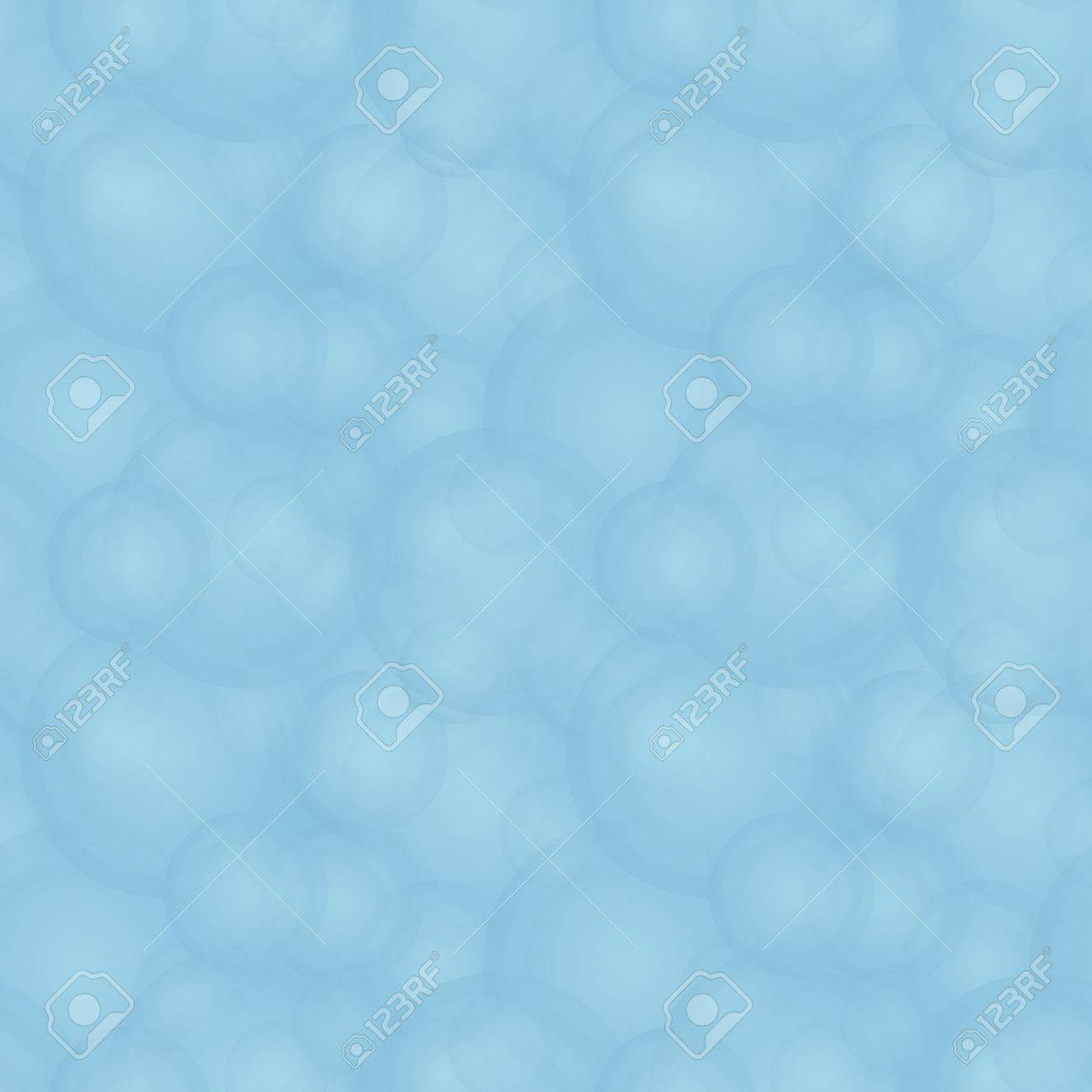 Vector seamless abstract pale pattern - blue foam Stock Vector - 18138897