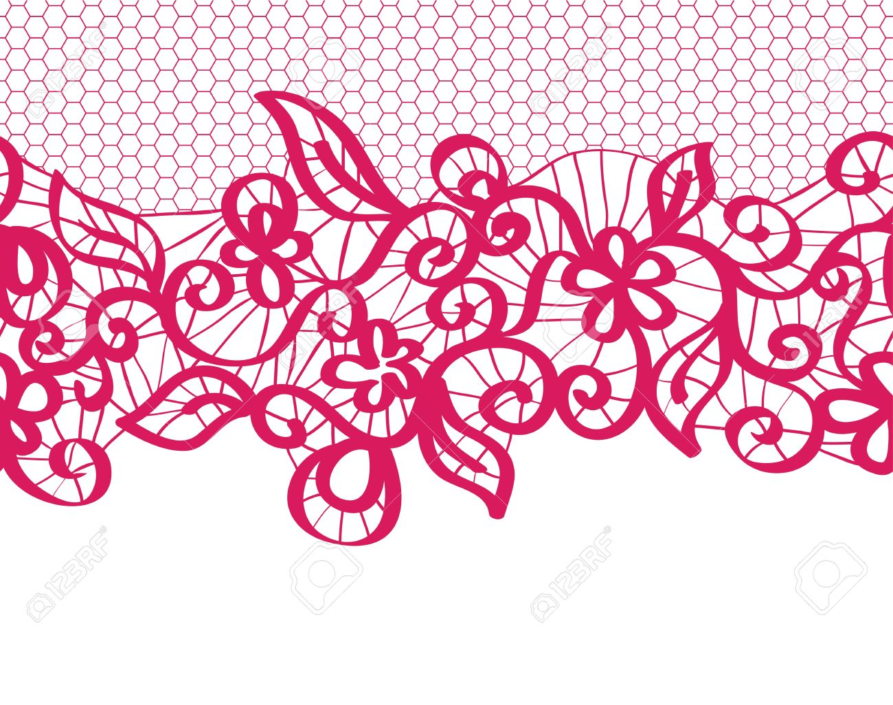 seamless red lace with floral pattern royalty free cliparts vectors rh 123rf com seamless vector lace pattern seamless vector lace pattern