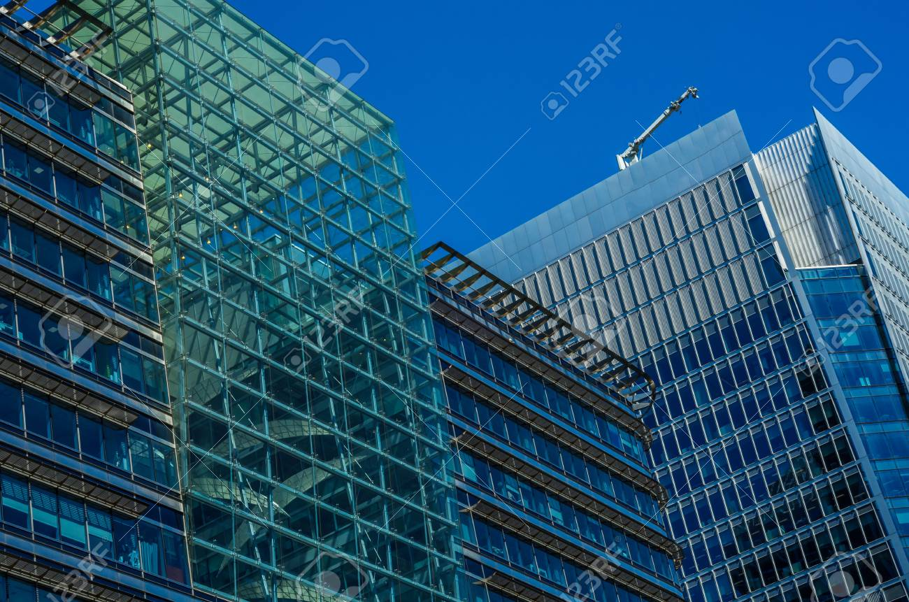 modern architecture skyscrapers. Interesting Skyscrapers Modern Business Skyscrapers High Glass Buildings Modern Architecture  Commercial Sunny Day Throughout Architecture Skyscrapers