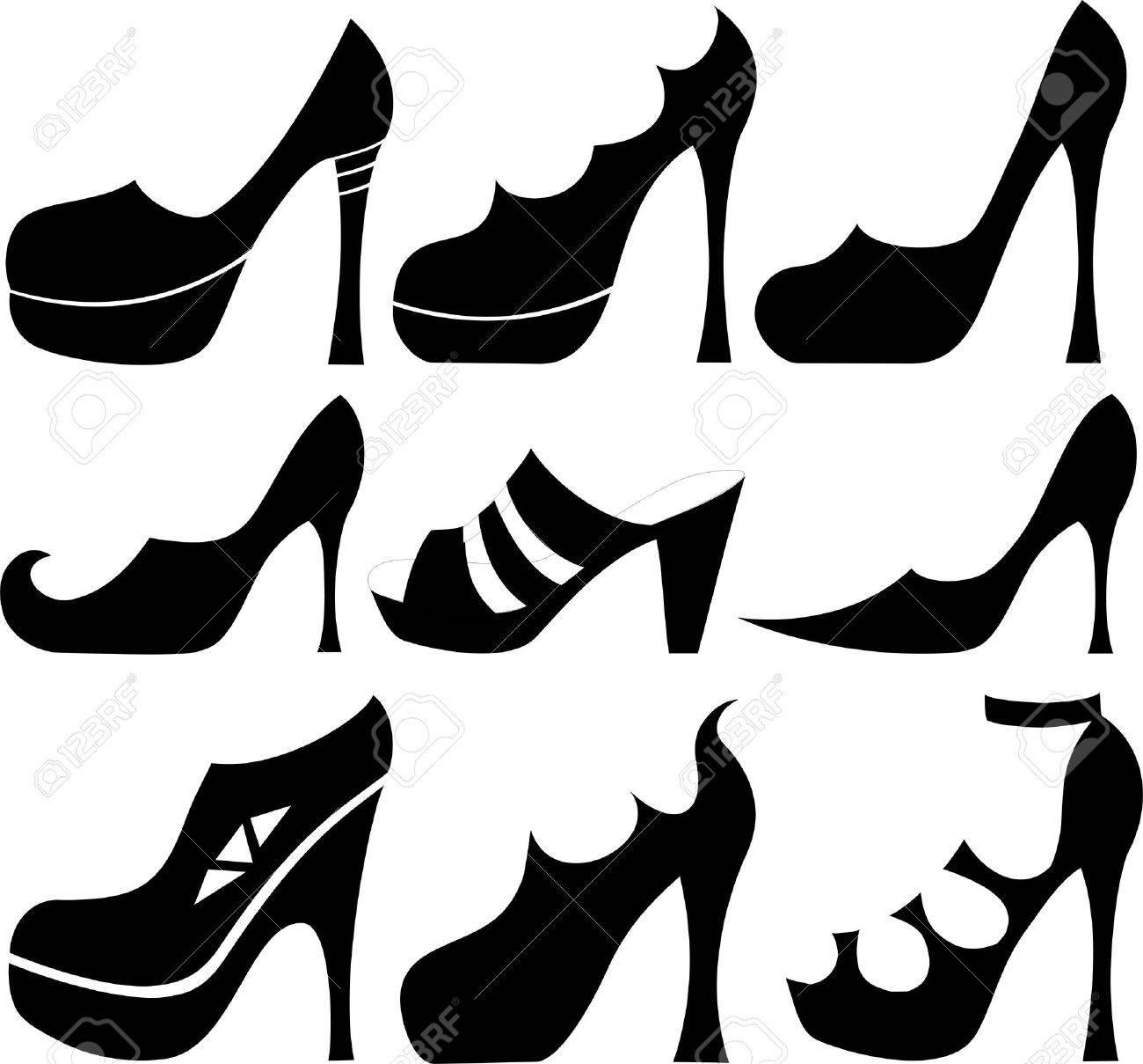scarpe vector