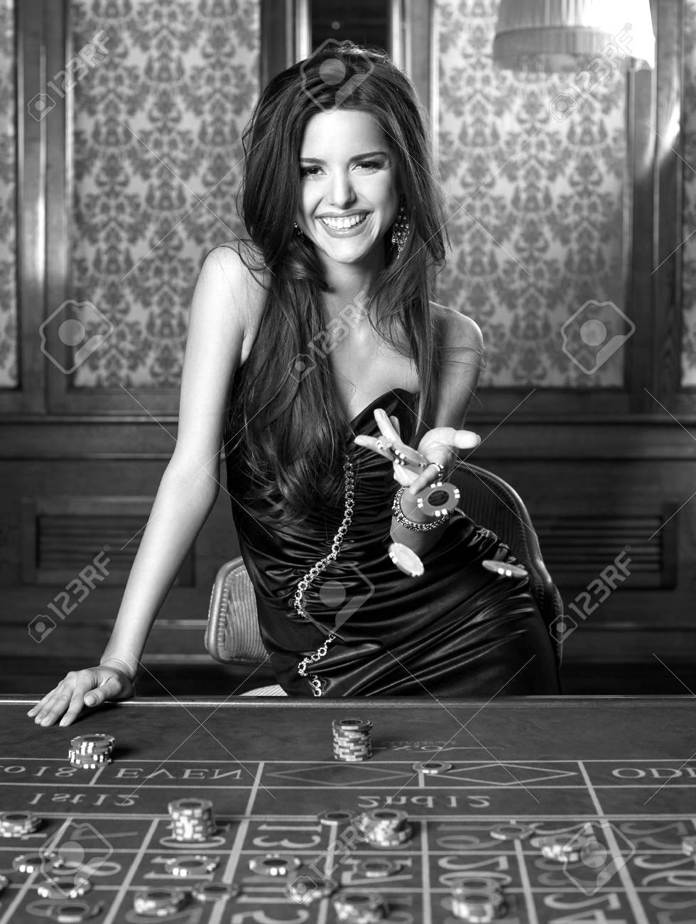 Robe de soiree style casino
