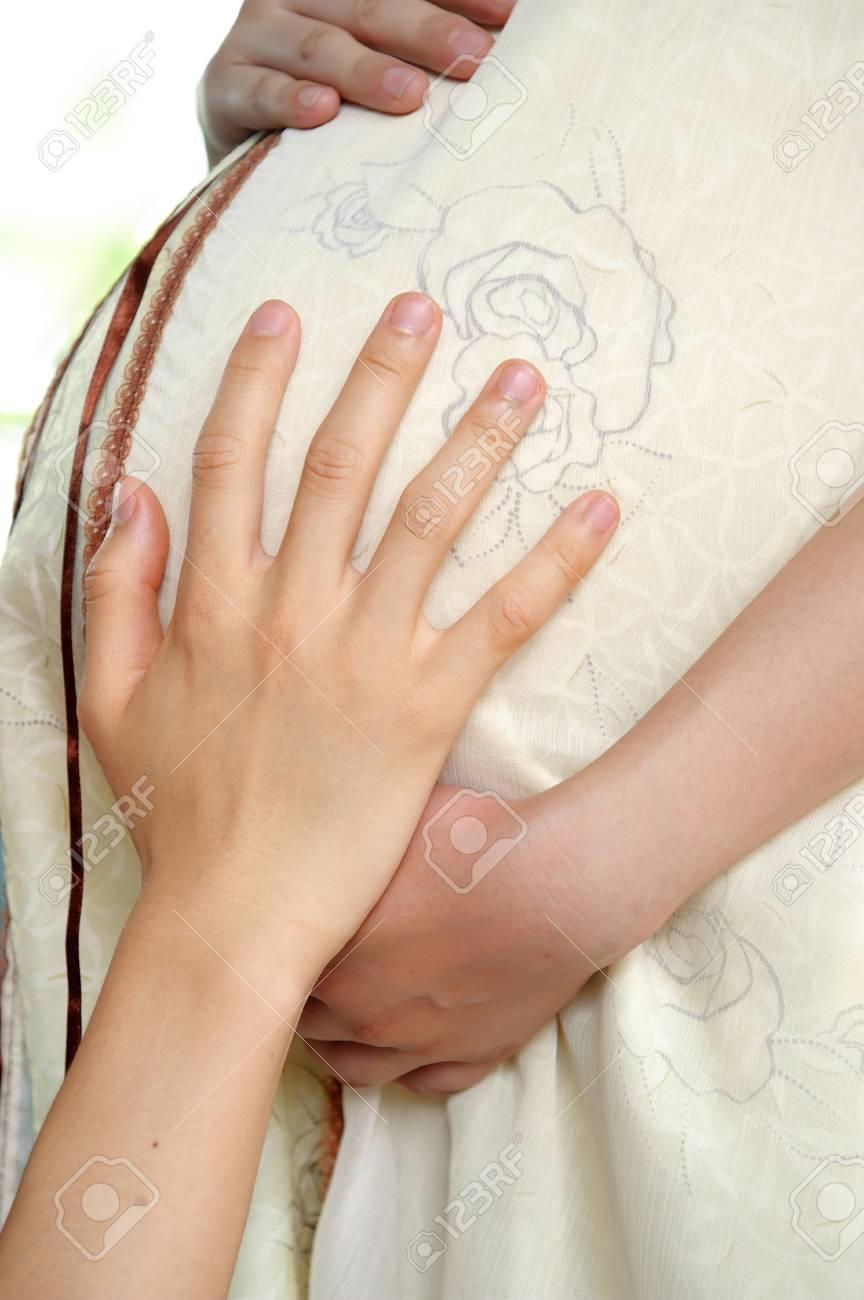 Pregnant woman Stock Photo - 8330707