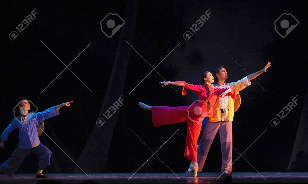 CHENGDU - SEP 5: The famous chinese ballet