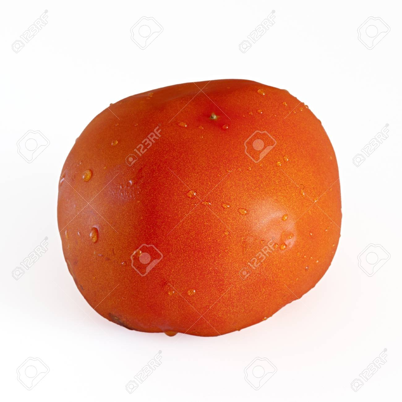 red tomato with isolated background Stock Photo - 8485696