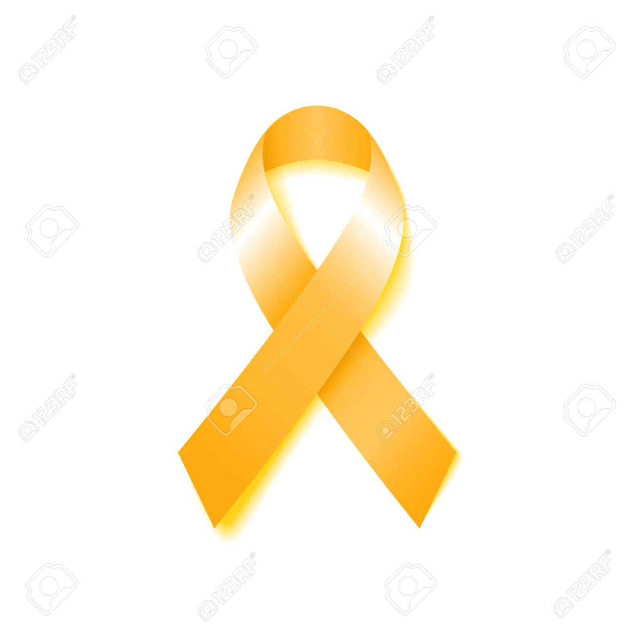 Childhood Cancer Day Childhood Cancer Awareness Yellow Ribbon